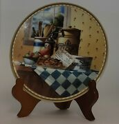 Apple Crisp Collector's Plate By Michael J. Weber For Knowles 247a