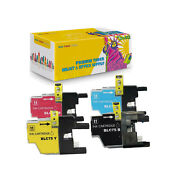 Compatible Inkjet Cartridge Lc75 Bk Cmy 4pk For Brother Dcp-j525dcp-j725dw