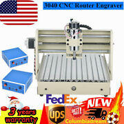 3axis Cnc 3040t Router 3d Engraver Wood Pcb Engraving Drill Milling Machine Er11