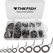 Fishing Rod Guide Repair Kit Spinning Rod Guides Ceramics Stainless Steel Carbon