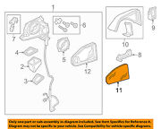 Audi Oem 17-18 Q7 Outside Mirrors-front Door-mirror Glass Right 4m0857536g