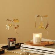Rotary Candle Holder Carousel Spinning Tea Light Diptyque + Handmade Candle