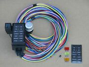 14 Fuse Wiring Wire Harness W/ 12 13 Or 14 Circuit - Off Road Kit Car Dune Buggy
