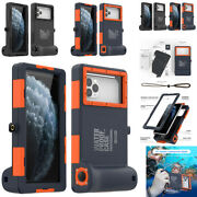 For Iphone 12 11 Pro Max Xs X 6 7 8 Plus Underwater Diving Waterproof Case Cover