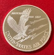 1 Oz .999 Silver Round United States Air Force