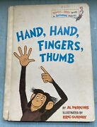 Bright And Early Books Hand, Hand, Fingers,thumb Hc Al Perkins 1969 Bce 1969 1st
