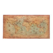 Wall Poster School Maps Globe Map Vintage World Map Vintage Journal Poster