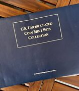 Us Uncirculated Coin Mint Set Collection Complete 1965 To 2000 Collection