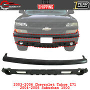 Front Upper Filler Cap And Lower Valance For 2003-06 Tahoe/04-06 Suburban 1500 Z71