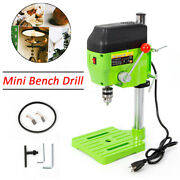 480w Electric Drill Press Small Power Drilling Tool Work Bench Imported Bearings