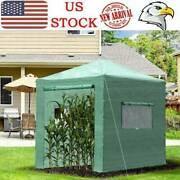 Greenhouse Green House Outdoor Portable Garden Plants Foldable Shed Hot House Us