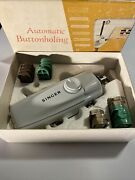 Vintage Automatic Buttonholing With Touch And Sew Sewing Machine By Singer