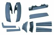 1980-1992 Cadillac Deville Fleetwood Brougham Front Rear Body Bumper Fillers Kit