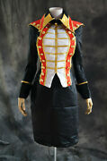 H-t046 Vocaloid 2 Luka Ruka Suit Uniform Cosplay Costume Set Military Carnival