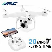 20 Mins Fly Fpv Drone For Adult , Jjrc H68 Rc Drone With 1080p Hd Camera Wifi Li