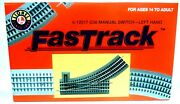 O Scale Lionel 6-12017 Fastrack O-36 Left Hand Manual Turnout/switch