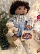 """Jan Shackelford Ooak 1997 """"baby Dear Marlon."""" With Tags. Signed. One Produced."""