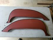 Nos 1965 Ford Galaxie Fender Skirts By Perfection Fo-65-f