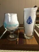 Tree House Brewing Willi Becher Cape Cod And Tulip Glass Sky Blue 1st Edition