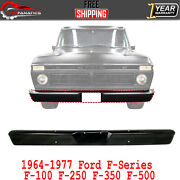 Front Bumper Face Bar Primed Steel For 1964-1977 Ford F-series F-100 250 350 500