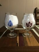 Tree House Brewing Western Mass And Cape Cod Tulip Beer Glasses 1st Edition Rare