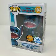 Funko Pop Disney Stitch With Record Player Chase 1048 Shop Exclusive In Hand