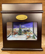 Mr. Christmas Music Box Animated Symphony Of Bells 50 Song Village Train