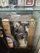 Neca Lord Of The Rings Aragorn 20andrdquo Epic Figure New In Sealed Box