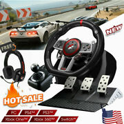 Driving Force Racing Wheel With 3 Pedals - For Ps4 Ps3 And Pc Xbox One/360 +gift