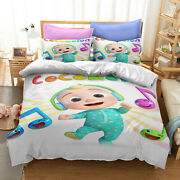 Anime Cocomelon 3d Printed Quilt Cover Duvet Cover Pillowcovers Kids Game