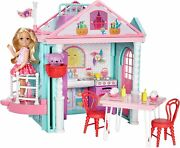 Barbie Club Chelsea Doll And Twostory Clubhouse