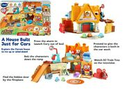 Vtech Go Go Cory Carson Stay And Play Home Ages 2+ Toy Car Race Wash Doll Houe