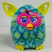 Hasbro Furby Boom Peacock Teal Blue Green Electronic Interactive Works Pink