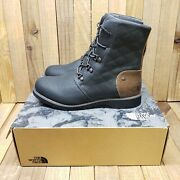 The Ballard Lace Ii Boots Womenand039s 7 Black/tagumi Brown Coated Canvas