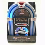60's Country Classics Tabletop Jukebox Musical Illuminated Centerpiece