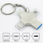 4in1 Usb 3.0 Flash Drive For Iphone/ipad/android 16/32/64/128/256gb Type C Otg