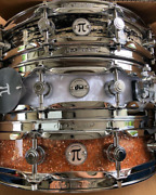 Dw Collectorand039s Series Pi Snare Drums - 3.14 X 14 Inch - Chrome Hardware 8 Finis