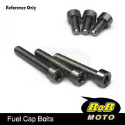 Cnc Fuel Gas Cap Bolts Fit Monster 620 695 Dark All Year Monster S4r S4rs