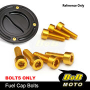 Cnc Fuel Gas Cap Bolts Fit Monster S4r / S4rs All Year St3 / St4 All Year