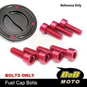 Cnc Fuel Gas Cap Bolts Fit Brutale 910 S/r All Year Brutale 1078 Rr All Year