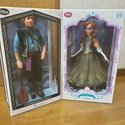 Anna And The Snow Queen Ed Anna And Christoph Limited Doll Disney Store