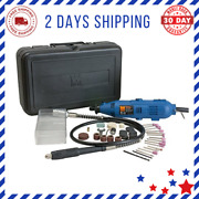 Rotary Tool Kit With Flex Shaft Easy To Use High Quality Best And Durable New