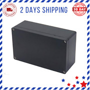 Waterproof Junction Box Plastic Black Electrical Boxes Electronic Project Power