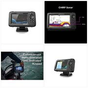Lowrance Hook Reveal 5 Fish Finder - 5 Inch Screen With Transducer And C-map