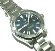 Gents/mens Tag Heuer Aquaracer Calibre 5 Stainless Steel Wristwatch