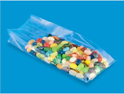 Case Of Clear Gussetted Polypropylene Gift/soap Bags - 3 X 1 3/4 X 8 1/4