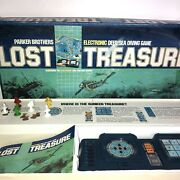 Vintage Lost Treasure 1982 Electronic Board Game Parker Brothers Slight Box Dam