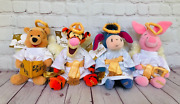 Winnie The Pooh Tigger Piglet Eeyore Disney Xmas Angels Limited Collectible