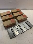 """6 Boxes Of Hager He84 4.5"""" Hinges - 18 Hinges Total - Free Shipping"""