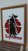 Rare Pop Art Poster Cool Art Interior Accessory A4 W/frame From Japan 1712